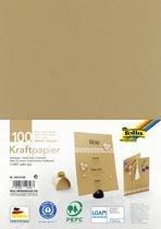 folia kraftpapier 120 g sqm A4 100 vel