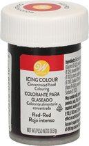 Wilton Eetbare Voedselkleurstof Rood Rood - Icing Color 28g