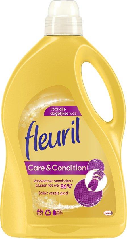 Fleuril Care & Condition Vloeibaar Wasmiddel - 45 wasbeurten