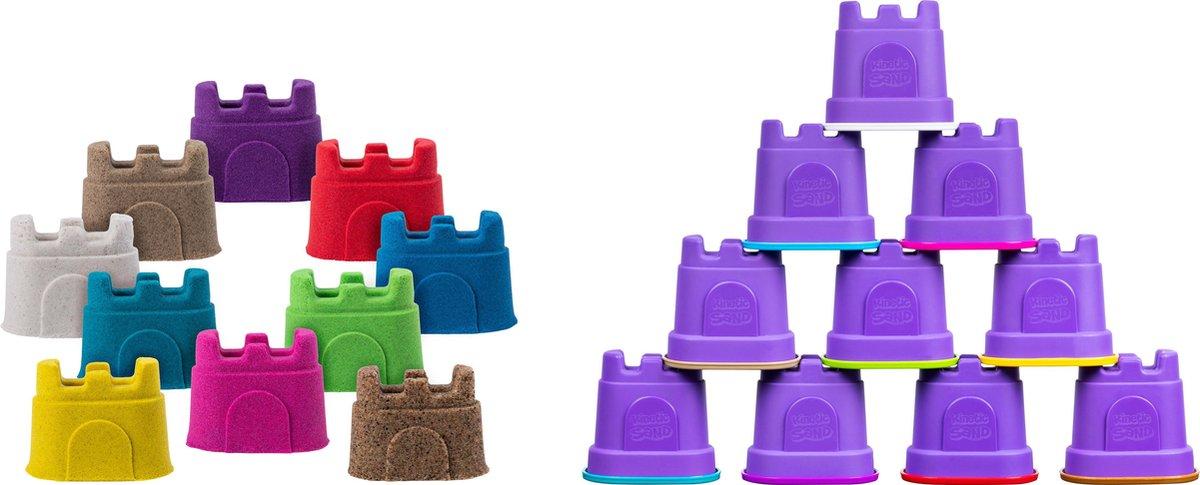 Kinetic Sand - 10-delige Zandkastelen Set