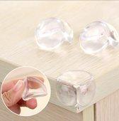 Transparant Hoekbeschermers 8 Stuks   Veiligheid Baby & KInd   Hoek beschermers   Stootkussens   Optimale bescherming- Voor alle hoeken- Kasten- Salontafels - Veiligheid in huis