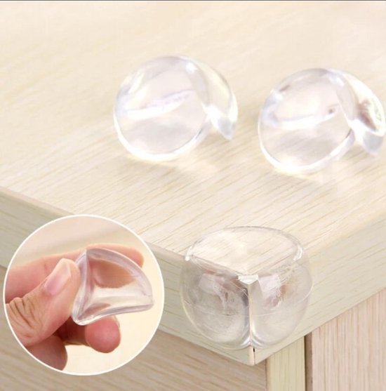 Transparant Hoekbeschermers 8 Stuks | Veiligheid Baby & KInd | Hoek beschermers | Stootkussens | Optimale bescherming- Voor alle hoeken- Kasten- Salontafels - Veiligheid in huis