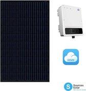 zonnepanelen compleet pakket van 16 Peimar 310 Wp zonnepanelen met Goodwe omvormer