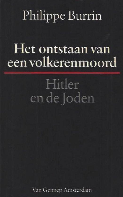 Boek cover Het ontstaan van een volkerenmoord van Philippe Burrin (Paperback)