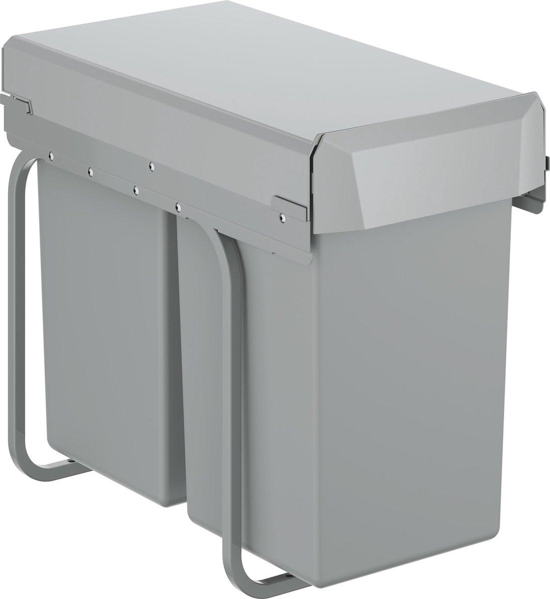 GROHE Inbouw Prullenbak - 2 afvalbakken (2x15L) - 40855000
