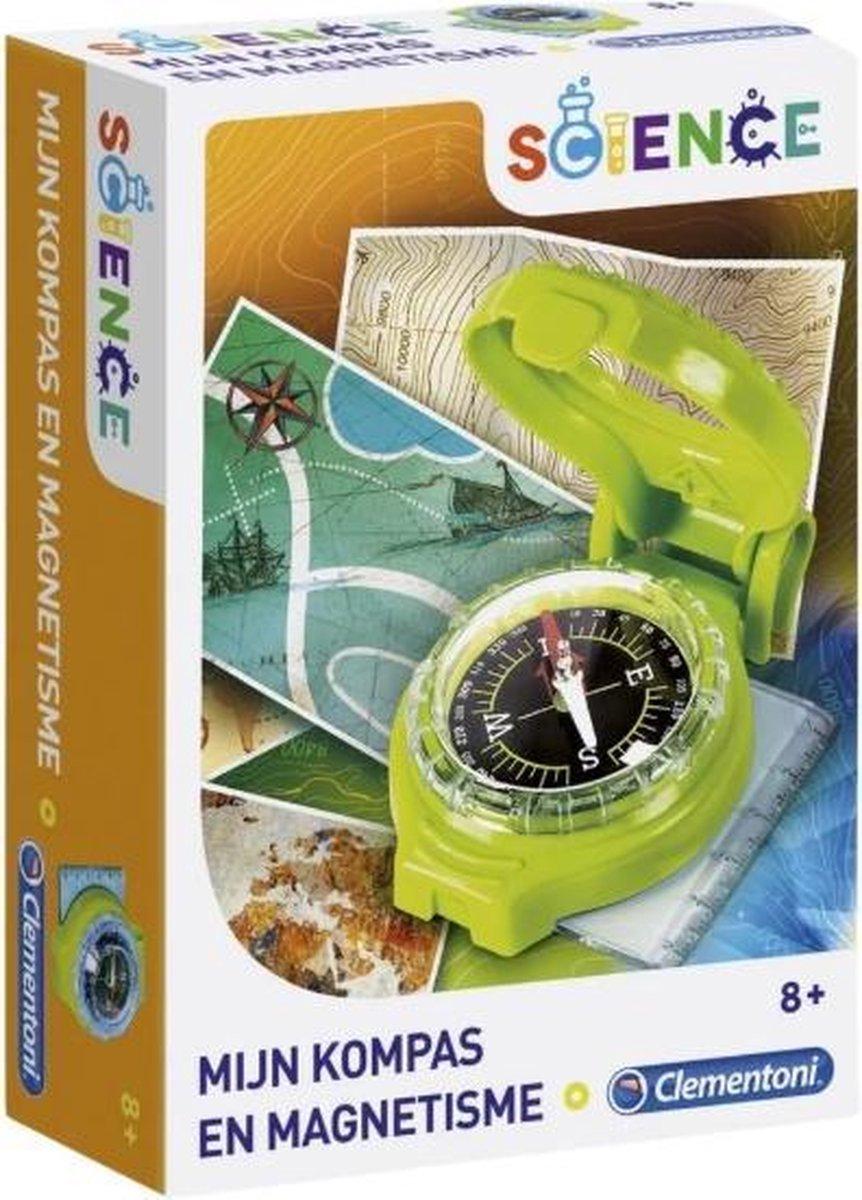 Science - Clementoni mijn kompas en magnetisme wetenschap en spel wetenschapsspel.