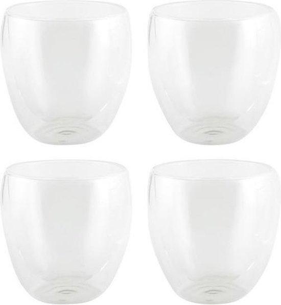 Bol Com 4x Luxe Dubbelwandige Theeglazen 220ml Keuken Accessoires Koffie Thee Bekers En Glazen