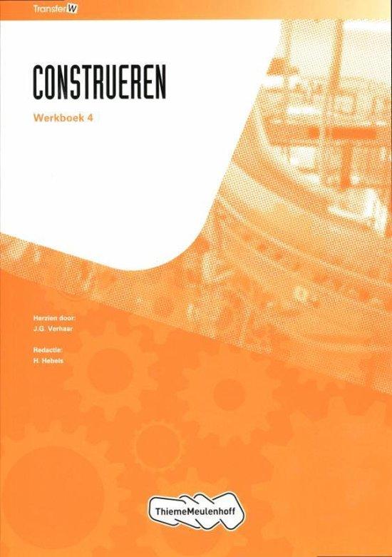 Tr@Nsfer-W / Construeren / Deel Werkboek 4 - H. Hersche pdf epub