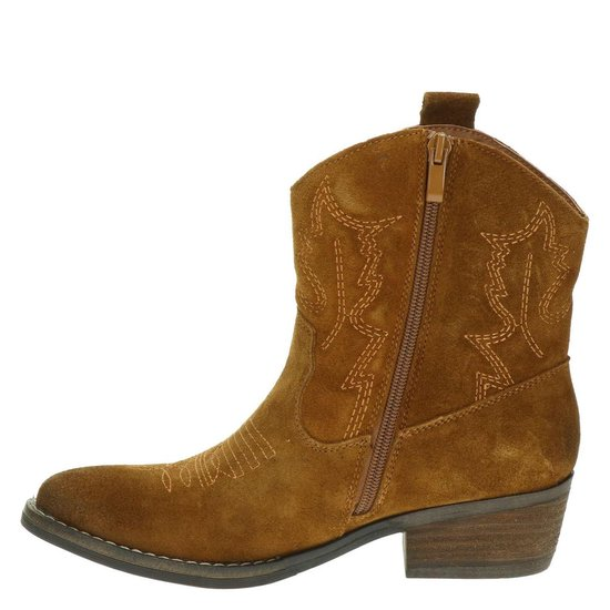 Nelson Dames Cowboylaars - Cognac Maat 41 r9lxTS