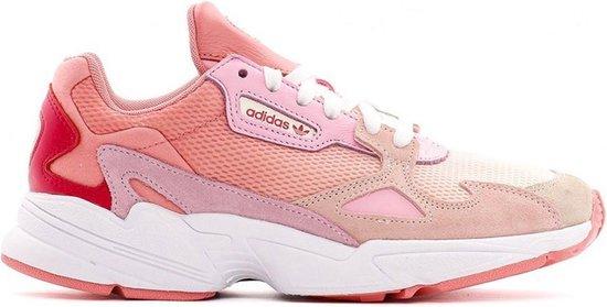 Adidas Falcon Sneakers - Maat 39 1/3 Vrouwen Roze/wit zesLqr