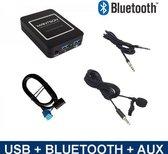 Bluetooth + USB + AUX interface adapter voor Citroën autoradio's
