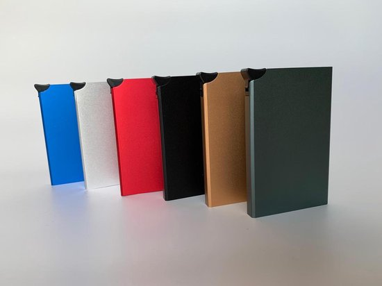 Tassen   RFID proof metalen betaalpas houder / Creditcards Pinpassen / Roestvast staal RVS /