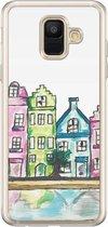Samsung Galaxy A6 2018 siliconen hoesje - Amsterdam