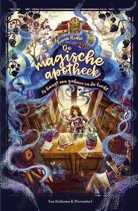 Boek cover De magische apotheek 1 -   Er hangt een geheim in de lucht van Anna Ruhe (Hardcover)