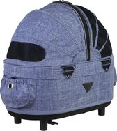 Airbuggy reismand hondenbuggy dome2 sm cot earth blauw 53x31x52 cm