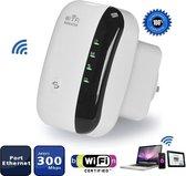 Wifi Versterker + Gratis Internet Kabel - 300Mbps