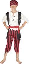 Kinderkostuum Piraat Jack - 10-12 Jaar - Carnavalskleding