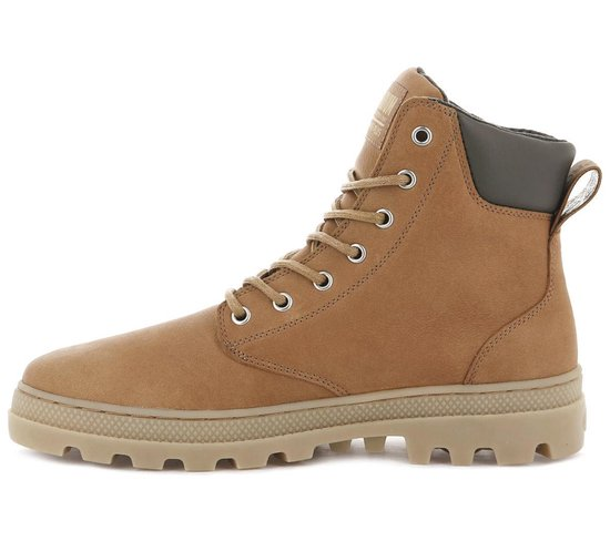 Palladium Pallabosse SC WP Waterproof M 05938-751-M Heren Laarzen Boots Schoenen Bruin - Maat EU 44.5 UK 10