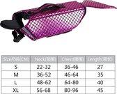 DOEGLY - Zwemvest voor honden - zwem jas - zwemondersteuning voor honden - ROZE - EXTRA LARGE (XL)