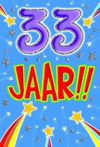 Leeftijdkaart 33 funny age