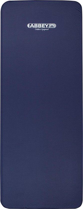 Abbey Camp 3D Zelfopblaasbaar Matras - 1 Persoons - 198 x 77 x 10 cm - Marine