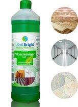 ProfiBright - Profi5 - Reiniger - Natuursteen - Laminaat - PVC - Voegen - Groene aanslag - Biologisch - Schoonmaak - Voordeelverpakking - Poetsmiddelen