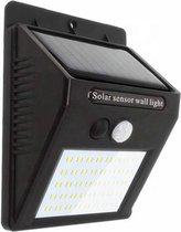 GoodRey wandlamp voor buiten - Automatische Solar LED -  30 LED - Sensor - Zonne energie