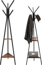 EKEO - Houten Design Kapstok in Boomvorm - Staande Kleerhanger met Hoogte 179cm