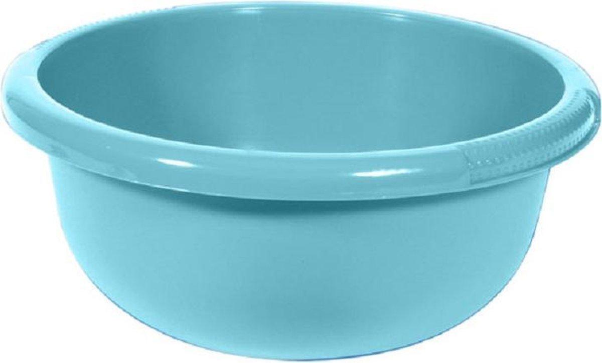 Waskom Rond 4l Molokai Blauw28x28xh12cm (set van 5) En Yourkitchen E-kookboek - Heerlijke Smulrecepten