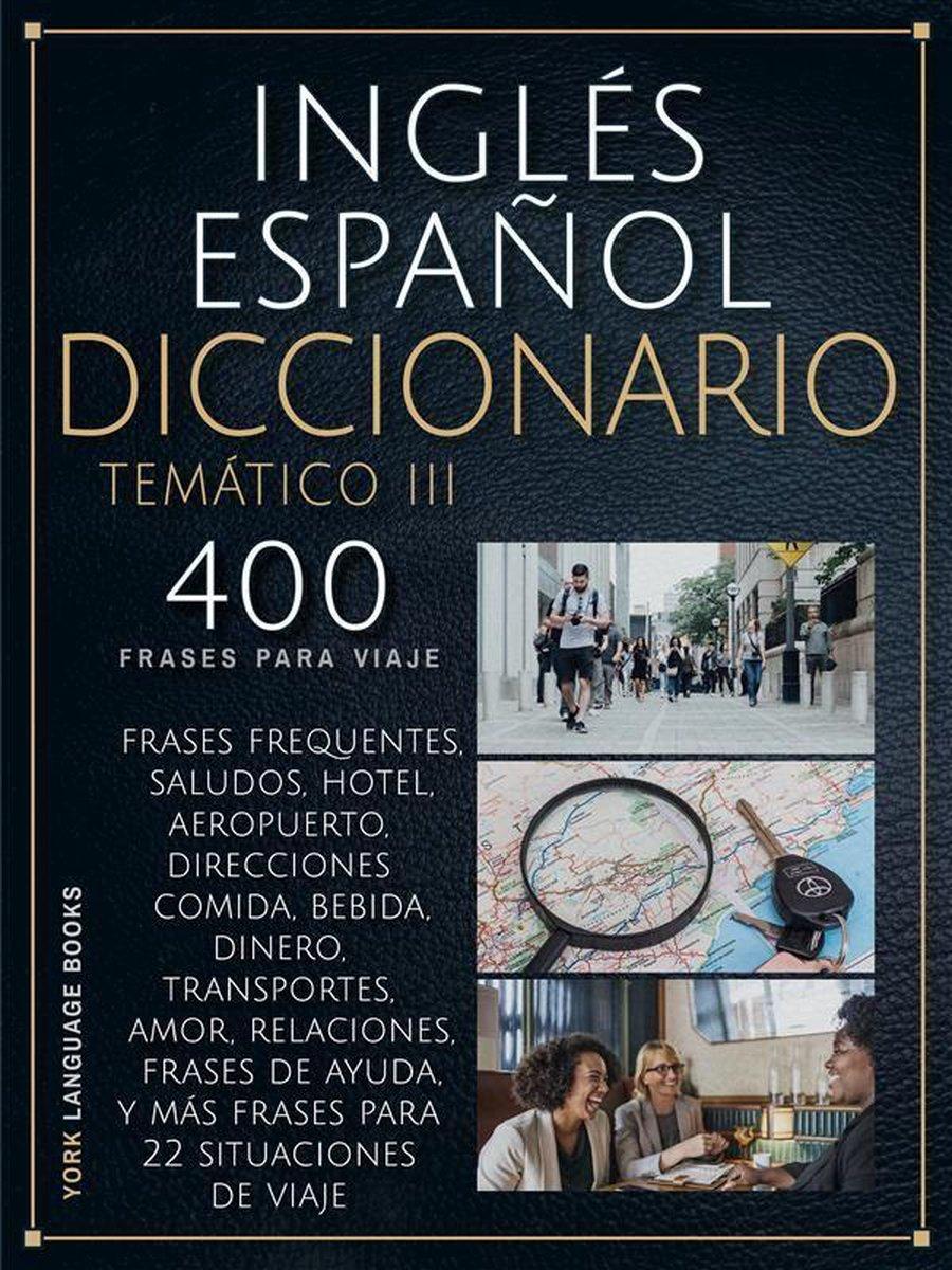 Bol Com Inglés Español Diccionario Temático Iii Ebook York Language Books 9788835353645