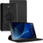 Samsung Galaxy Tab A 10.1 T580 T581 (2016) draaibare hoes case Zwart