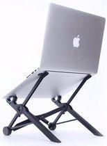 Nexstand K2 laptop standaard - Zwart - Ergonomisch werken -  Verstelbaar in 8 standen - Makkelijk opvouwbaar