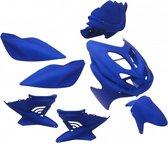 Plaatwerkset Yamaha Aerox mat blauw Edge 9-delig
