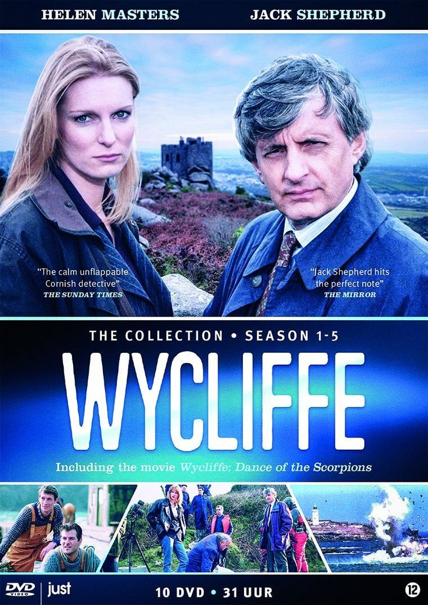 Wycliffe - Complete Collection (Inclusief Dance Of The Scorpions) - Tv Series