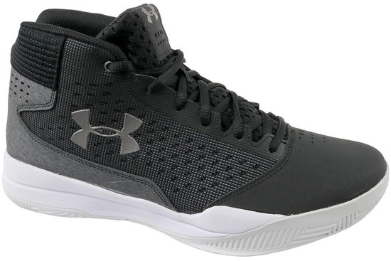 Under Armour Jet Mid Basketbalschoenen - Heren - Maat 47 - Zwart - Under Armour