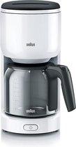 Braun PurEase KF3120WH - filter-koffiezetapparaat - wit