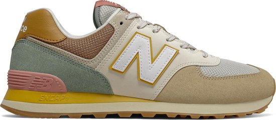 New Balance ML574 D Heren Sneakers - Tan - Maat 45