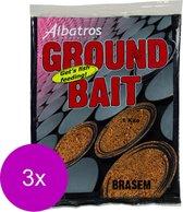 Albatros Groundbait Brasem - Lokvoer - 3 x 1 kg Beige Allround
