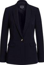 WE Fashion Dames Blazer  - Maat M (38) - Dark Blue