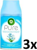Air Wick Pure Lentedauw Spray Navulling Neutraliseert Geurtjes Zonder Vochtige Nevel - 3 Sprays