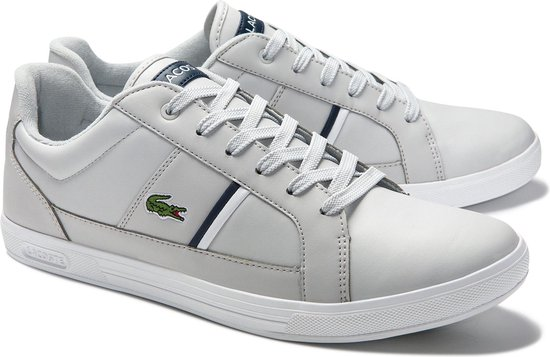 Lacoste Sneakers - Maat 46 - Mannen - grijs,wit