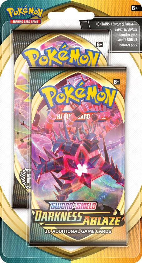 Pokémon Sword & Shield Darkness Ablaze Celebration Booster - Pokémon Kaarten