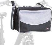 Trixie Fietsmand Voor Aan Stuur - Nylon - Zwart/Grijs - 41X26X26 cm