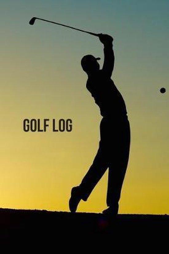 Golf Log: For Golfers - 6x9 - 105 pg