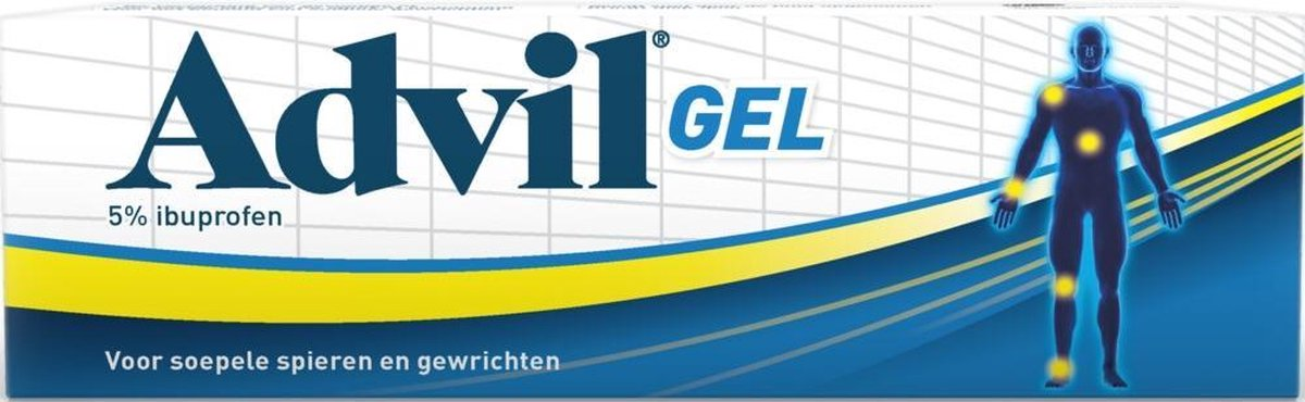Advil Spieren & Gewrichten - Gel - 60 gram - Advil