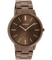 Oozoo Dames horloge-C20103 bruin (38mm)