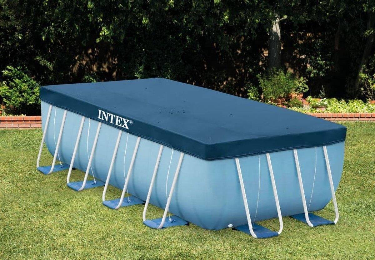 Intex Afdekzeil - 28037 - 390x180cm - Geschikt voor 400x200 Intex baden