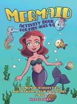 Mermaid Activity Book for Kids Ages 4-8
