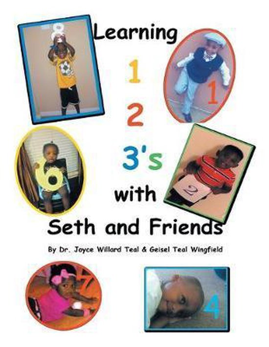 Learning 1,2 3's with Seth and Friends.