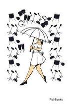 Pm-Books: Kariertes A5 Notizbuch oder Heft f�r Sch�ler, Studenten und Erwachsene